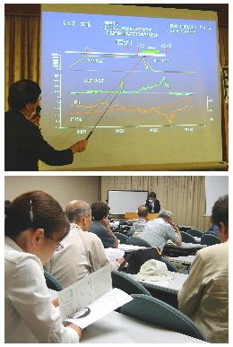 奈良 講演会・患者交流会風景