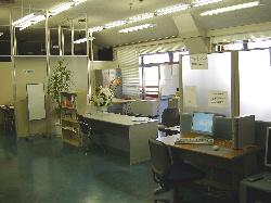 堺市「難病患者交流の広場」事務所風景